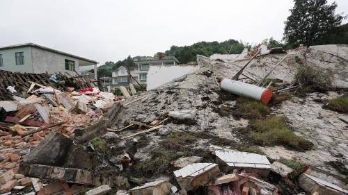 Chine : un séisme fait au moins 12 morts et 134 blessés