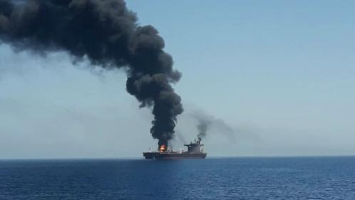 Pétroliers attaqués en mer d'Oman : Washington publie des photos présentées comme incriminant l'Iran