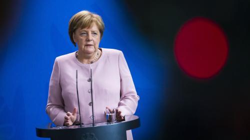 Photo Hebdo : le malaise d'Angela Merkel, Donald Trump en campagne, un ours polaire perdu dans la ville... L'actualité de la semaine en images