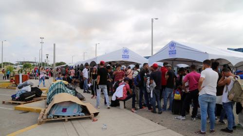 Plus de 70 millions de personnes ont fui la guerre, les persécutions ou les conflits en 2018 d'après l'ONU
