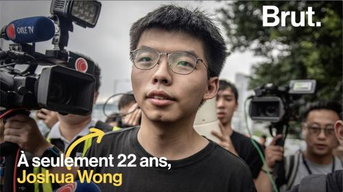 VIDEO. Hong Kong : Joshua Wong, le militant pro-démocratie qui galvanise les foules