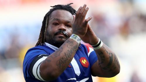 """""""Il est temps pour moi de tourner la page bleue"""" : le rugbyman Mathieu Bastareaud, non retenu pour le Mondial, annonce sa retraite internationale"""