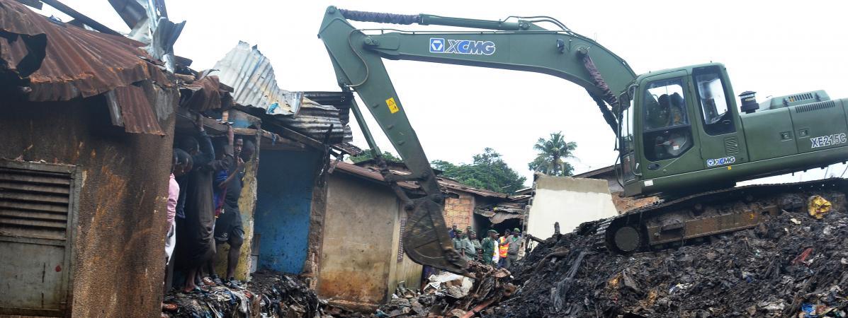 Human Rights Watch dénonce les expulsions répétées d'habitants à Conakry