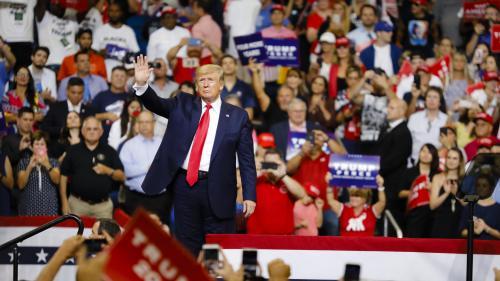 """""""Quatre ans de plus !"""" : Donald Trump lance officiellement la campagne pour sa réélection en 2020"""
