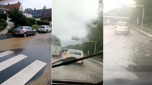 VIDEO. Intempéries : des inondations dans le Nord et le Pas-de-Calais après des orages