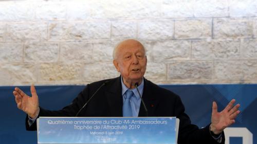 Municipales 2020 à Marseille : Jean-Claude Gaudin soutient Martine Vassal et un rassemblement entre LR et LREM