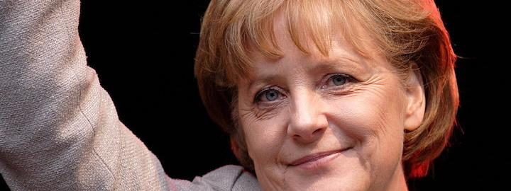 Angela Merkel says she is 'very well' after visibly shaking during ceremony