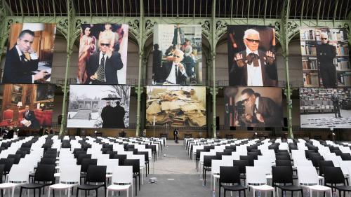 """""""Karl for ever"""" : l'hommage au Kaiser sous la Nef du Grand Palais quatre mois après sa mort"""