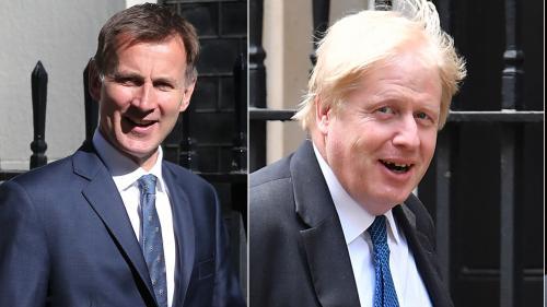 Royaume-Uni: Boris Johnson et Jeremy Hunt sont les deux derniers prétendants pour succéder à la Première ministre Theresa May