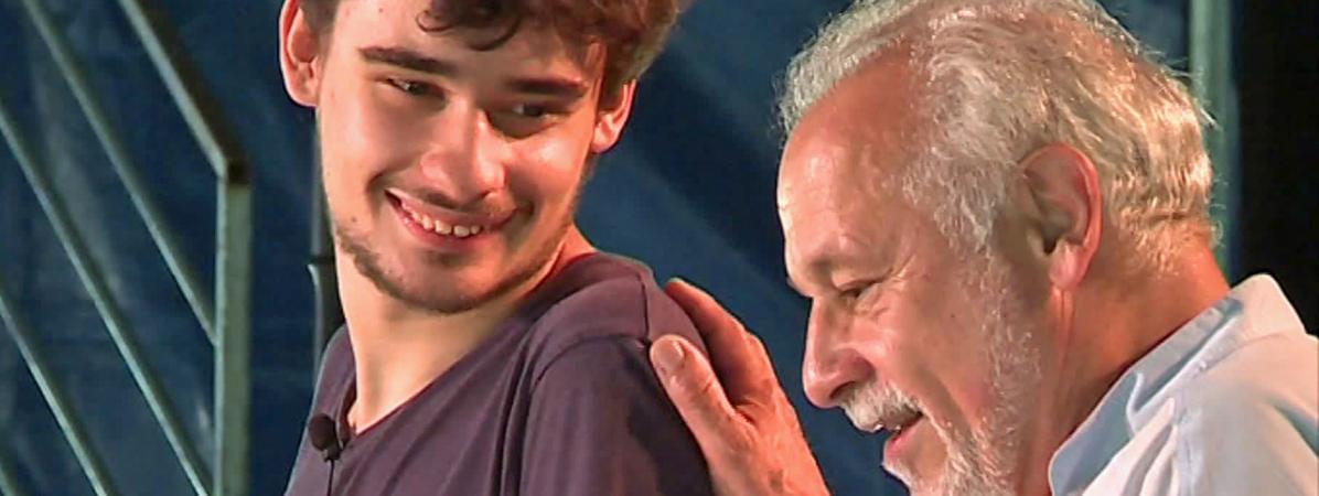 Louis et Francis Perrin jouent Molière à Gradignan