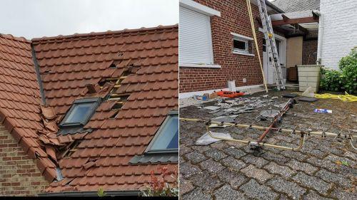 """Nord : une """"mini-tornade"""" endommage une quarantaine d'habitations à Briastre et Cauroir"""