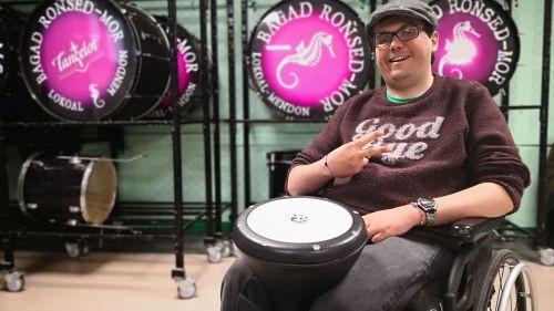 Comment la musique a sauvé la vie de Joachim, batteur au bagad de Landaul