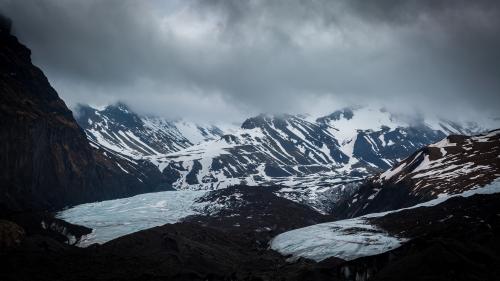 EN IMAGES. Islande : un garde-forestier photographie l'impressionnante fonte d'un glacier en huit ans