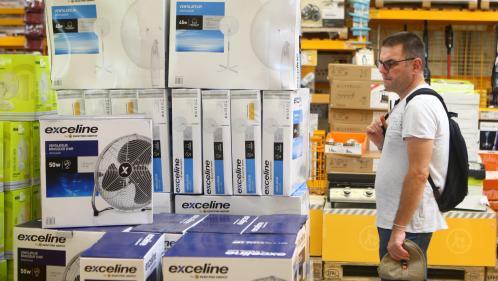 Les ventes de climatiseurs et de ventilateurs en hausse avant la canicule attendue la semaine prochaine