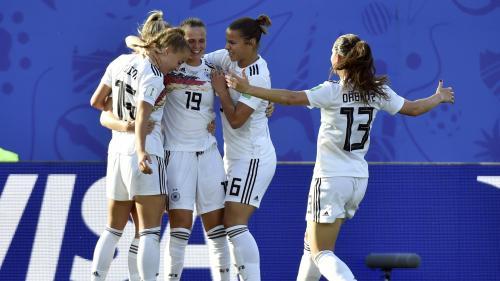 Mondial 2019 : l'Allemagne se qualifie pour les quarts de finale en battant le Nigeria 3-0