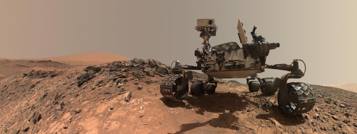 Mars : de nouvelles traces de méthane détectées par le robot Curiosity