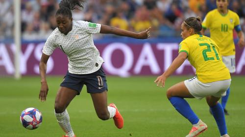 Revivez la victoire des Bleues contre les Brésiliennes (2-1) en huitièmes de finale de la Coupe du monde