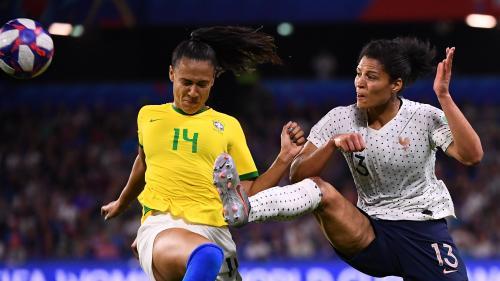 Coupe du monde : les Bleues battent les Brésiliennes en prolongation (2-1) et décrochent dans la douleur une place en quarts de finale