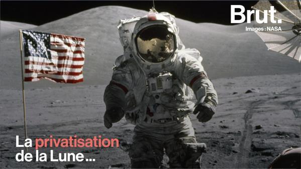 VIDEO. Des entreprises privées pourraient-elles s'accaparer la Lune ?