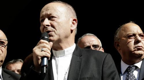 Mgr Dubost, nouvel administrateur apostolique du diocèse de Lyon en remplacement du cardinal Barbarin