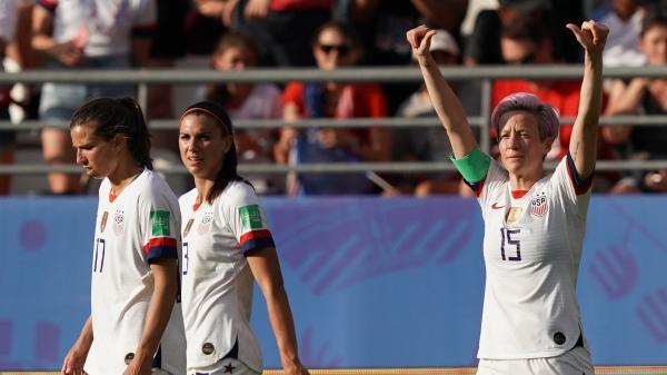 Coupe du monde de football : les Américaines battent les Espagnoles (2-1) et retrouveront les Bleues en quarts de finale