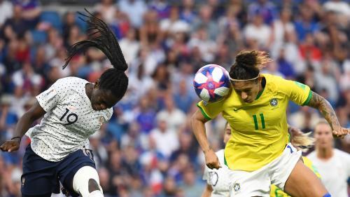 """Coupe du monde : face au Brésil, des Bleues """"peu inspirées techniquement"""""""