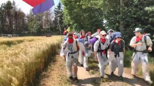 Allemagne : une mine de charbon envahie par des écologistes