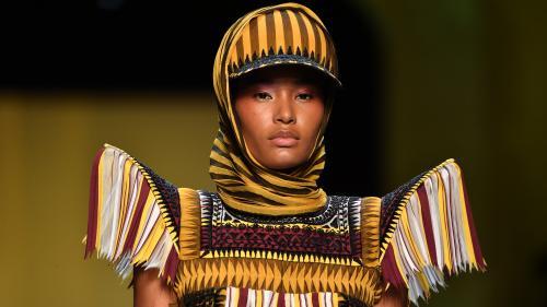 La haute couture de retour sur les podiums parisiens pour l'hiver 2019 : Schiaparelli en ligne de mire