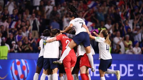 Coupe du monde : ce qu'il faut retenir de la difficile victoire des Bleues contre le Brésil (2-1) en huitièmes de finale