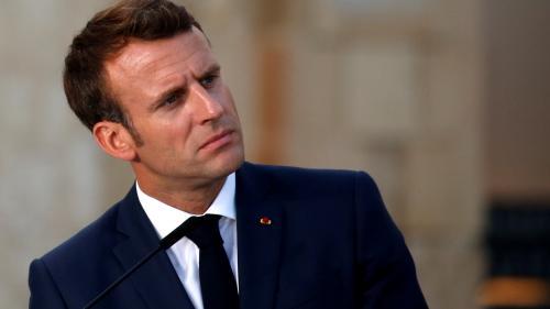 """Les """"gilets jaunes"""" ne sont pas """"des simples citoyens qui manifestent"""", déclare Macron au """"New Yorker"""""""