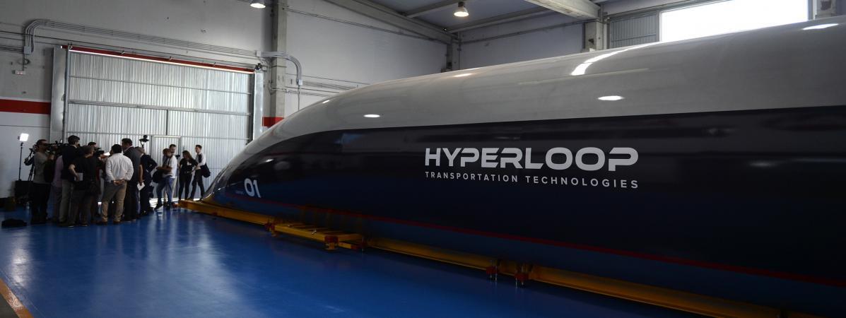 Hyperloop : le train à 1 200 km/h sera testé dès l'an prochain avec des passagers