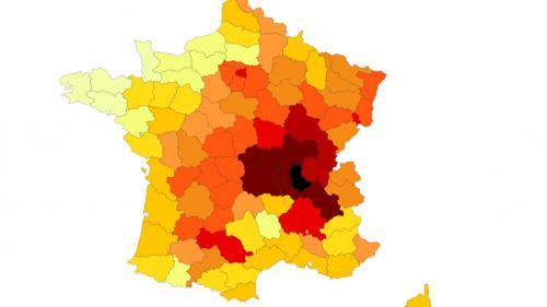 CARTE. Canicule : quels sont les départements les plus souvent confrontés aux vigilances orange ?