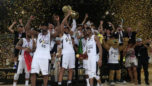 Basket : Villeurbanne arrache un 19e titre de champion de France face à Monaco