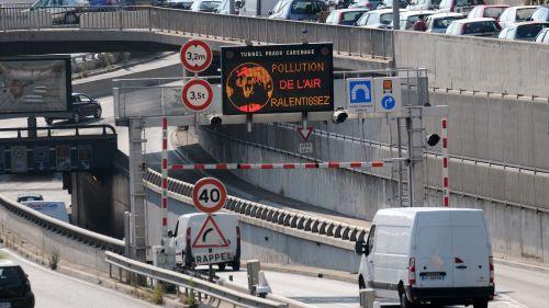 Pollution de l'air à Marseille : la circulation différenciée activée pour la première fois jeudi