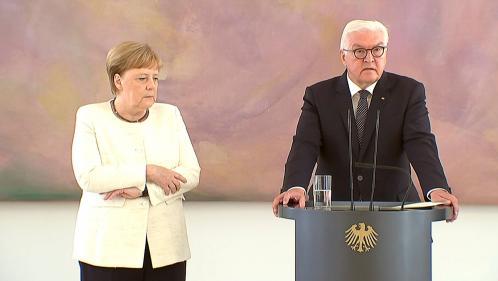 VIDEO. Allemagne : Angela Merkel a de nouveau été prise de tremblements lors d'une cérémonie officielle