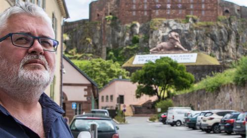 """GRAND FORMAT. """"Ils foutent en l'air notre outil de travail"""" : à la rencontre d'Eric Weiss, salarié chez Alstom à Belfort depuis 37 ans"""