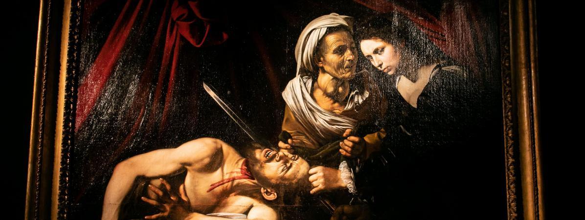 Judith et Holopherne, attribué au peintre du XVIe siècle Caravage, a été retrouvé en 2014 à Toulouse.