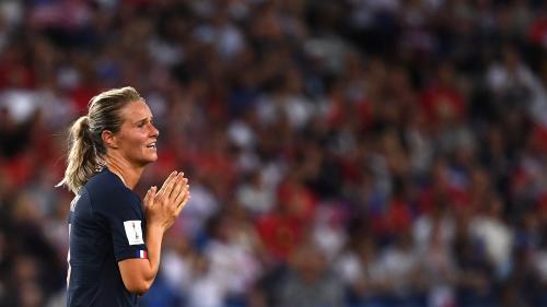 Mondial 2019 : la France éliminée en quarts de finale après sa défaite honorable face aux Etats-Unis (1-2)