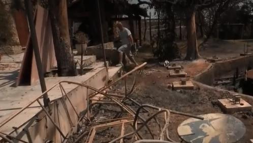 VIDEO. Canicule : après les incendies dans le Gard, le désarroi des sinistrés