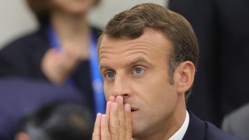"""VIDEO. G20: """"Nous devons aller beaucoup plus loin"""" sur le climat"""", estime Emmanuel Macron"""