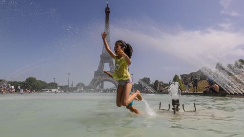Report du brevet, dépassement des 45°C, record battu au pic du Midi… Une semaine de canicule en France