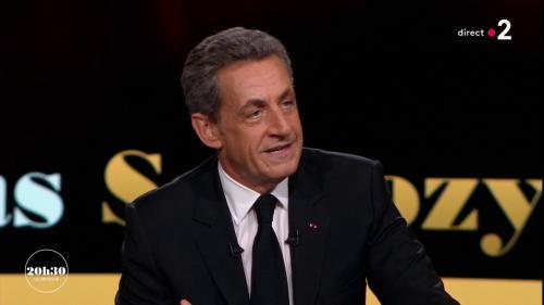 """VIDEO. """"Ma place n'est plus dans la vie politique partisane. Définitivement"""", affirme Nicolas Sarkozy à """"20h30 le dimanche"""""""