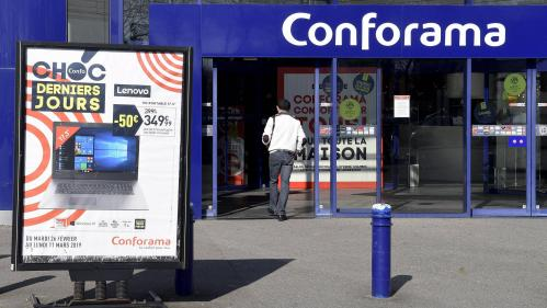 Conforama prévoit 1 900 suppressions de postes en France en 2020, selon les syndicats