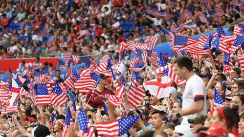 Revivez le choc entre l'Angleterre et les Etats-Unis en demi-finale, remporté (2-1) par les Américaines