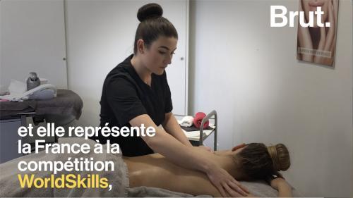 VIDEO. Championne en soins esthétiques, elle balaie les clichés sur son métier