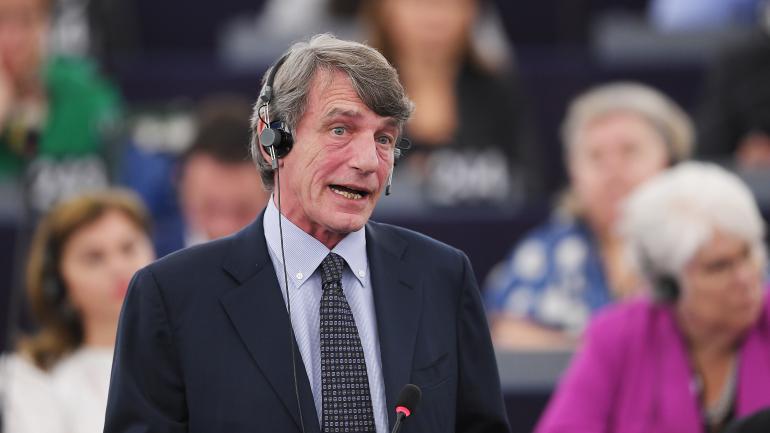 DIRECT. Le socialiste italien David Sassoli est élu président du Parlement européen