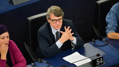 L'Italien David Sassoli est le nouveau président du Parlement européen pour un mandat de deux ans et demi