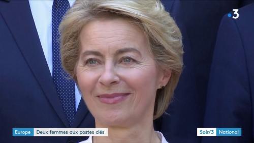 VIDEO. Deux femmes à la tête de l'Union européenne
