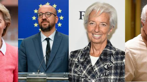Von der Leyen, Lagarde, Sassoli... Qui sont les nouveaux dirigeants de l'Union européenne ?
