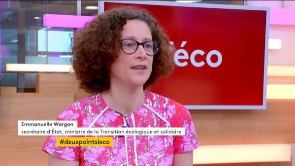 : L'éco Emmanuelle Wargon, Secrétaire d'Etat auprès du ministre de la Transition écologique et solidaire.
